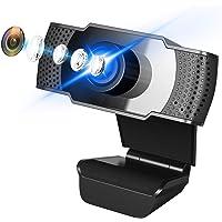 ウェブカメラ A-VIDETマイク内蔵 1080P HD 200万画素 プラグアンドプレイ Webカメラ 90°広角レン…