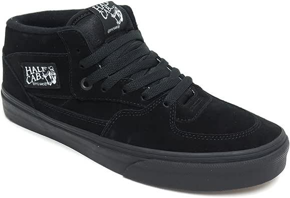 VANS SHOES バンズ シューズ スニーカー HALF CAB 黒/黒 BLACK/BLACK スケートボード スケボー SKATEBOARD 25.5cm,黒/黒