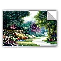 Tremont Hill Egidio Antonaccio ''Garden Birdhouse'' Gallery Wrapped Canvas, 32X48 [並行輸入品]