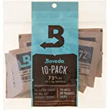 Boveda (ボヴェダ) 72% RH 2Way Humidity Control For Woodwind Reeds 木管楽器 リード用 ヴァイタライザー 10個入り
