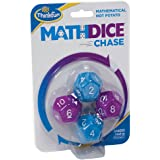 ThinkFun 1505 Maths Dice Chase Game,Family Games,Blue;Purple