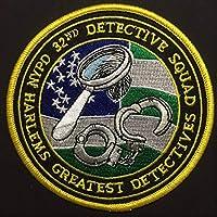 NYPD ニューヨーク市警 第32分署 ハーレムズ グレーテスト ディテクティブ ワッペン