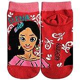 ディズニー キッズソックス アバローのプリンセス エレナ子供靴下 エレナ 01 レッド 13cm~18cm AWDS4517J