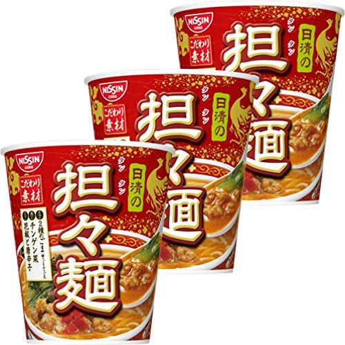 日清食品 日清の担々麺 71g×3個