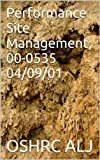 Performance Site Management; 00-0535  04/09/01 (English Edition)