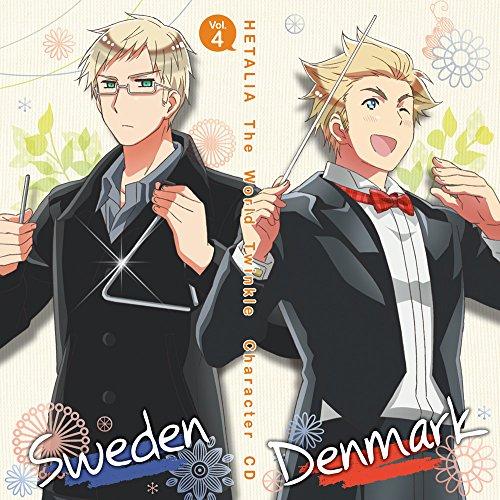 アニメ「 ヘタリア The World Twinkle 」 キャラクターCD Vol.4 デンマーク & スウェーデンの詳細を見る