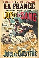 La France–L 'or et le sangヴィンテージポスターフランスC。1890 24 x 36 Giclee Print LANT-64749-24x36