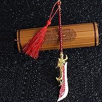 JQ trendおもちゃ 三国志演義 将軍 関羽雲長の刀 剣 アクションフィギュアの武器 (画像色)