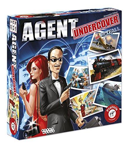 "Piatnik 16140cm Agent Undercover"" Board Game"