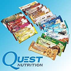 クエストニュートリション(Quest Nutrition) プロテインバー バラエティ パック 22 Bars [海外直送]