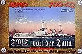 1/700 独海軍巡洋戦艦 フォン・デア・タン