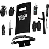 Dress-Up-America Police Toys Role Play - Ultimate All-In-One Police Costume For Kids *€* Police Officer SWAT Gear Set Include