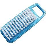 オーエ ブラシ ブルー 約縦11×横4.2×高さ3cm 手洗いしま専科 爪ブラシ 汚れ かき落とす