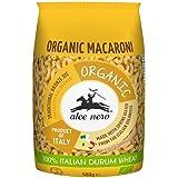 Alce Nero Organic Macaroni Pasta | Authentic Italian Pasta Taste & Texture | Made with Organic Italian Durum Wheat Flour | Fr
