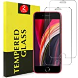 [ 2 Pack ] for Apple iPhone SE 2020 Tempered Glass LCD Anti Scratch Screen Protector Film Guard