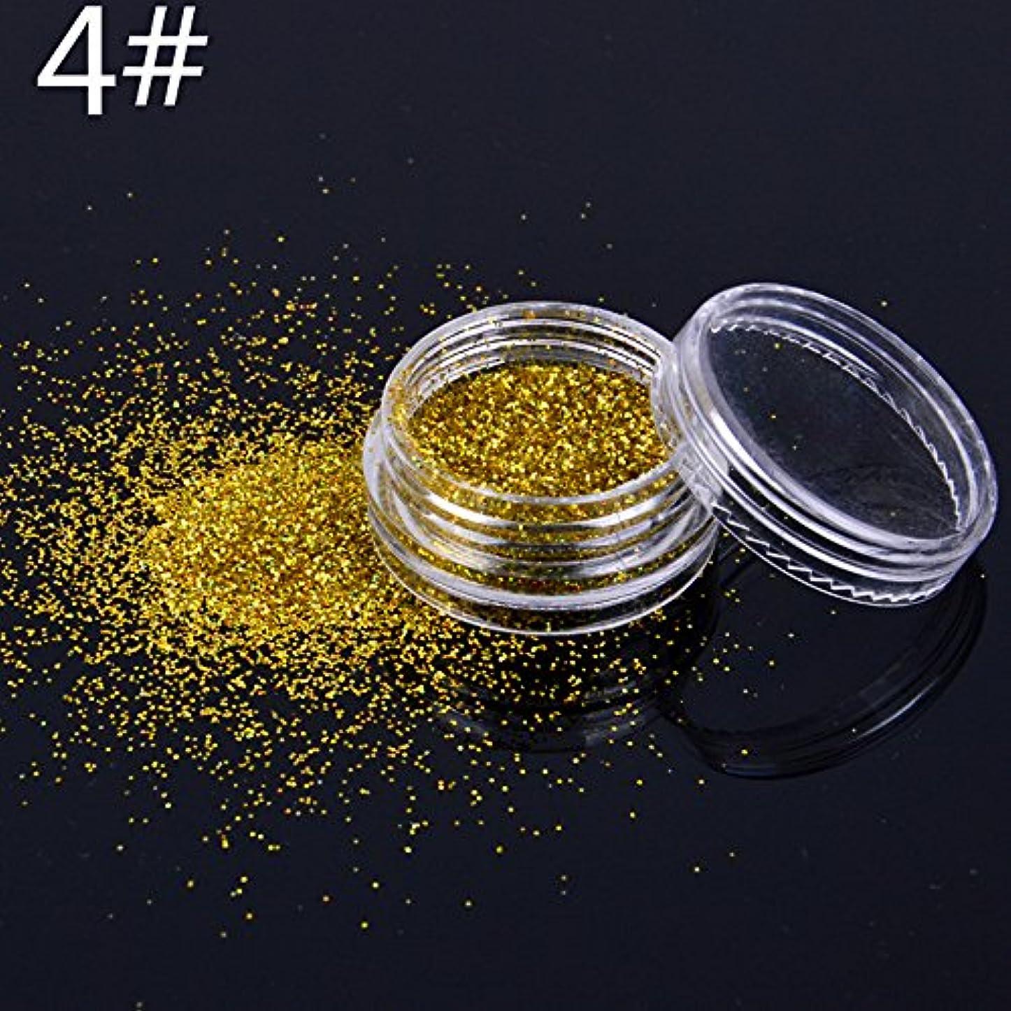 おいしい節約革命的キラキラ化粧キラキラルースパウダーEyeShadowゴールドアイシャドー顔料