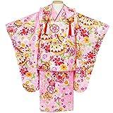 (キョウエツ) KYOETSU 七五三 3歳 着物 女の子 被布セット フルセット 友禅 (J)