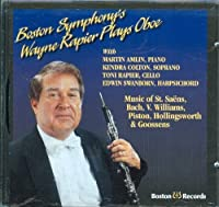 Boston Symphony's Wayne Rapier Plays Oboe