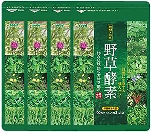 野草 酵素 約12ヶ月分/360粒 (約80種類の自然が持つ栄養素を配合)