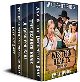Mail Order Bride: Western Hearts Boxed Set by [Woods, Emily]