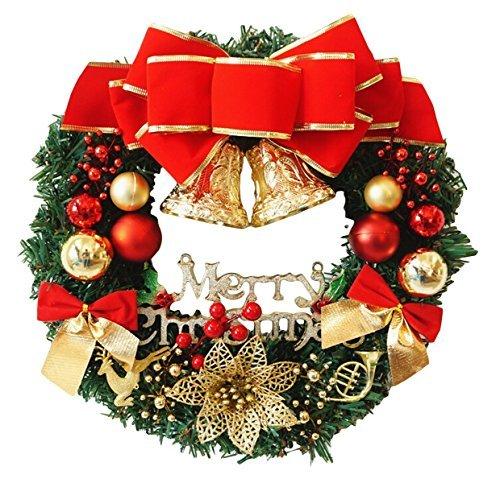 ELEEJE クリスマスリース 選べるサイズ 便利なドアフッ...