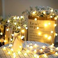 SFOUR フェアリーライト電飾led イルミネーションライト 6M40個LED 電池式 クリスマス 飾りツリー led…