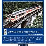 TOMIX Nゲージ 名鉄キハ8200系 北アルプス セット 98446 鉄道模型 ディーゼルカー