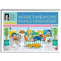 More Time Moms - 2018 Family Organizer Wall Calendar - September 2017 to December 2018 [並行輸入品]
