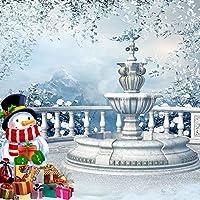 クリスマステーマビデオスタジオ背景コンピュータ印刷写真背景写真バックドロップCP _ g-010