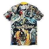 1stモール 【 16種類 4サイズ 】 3D プリント アート Tシャツ 前衛芸術 美術 クレイジー おもしろ XXLサイズ 【 タイプ05 】 ST-ARTTT-05-XXL