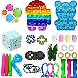 Fidget Pack Miniature Novelty Toys, 29Pcs Fidget Toys Cheap Fidget Toys Set Sensory Fidget Toys for Kids Adults, Stress Relie