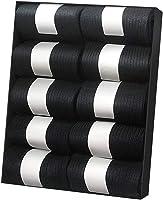 IGRESS 袜子 男士 商务袜子 防臭 10 双装 24-28 厘米 黑色