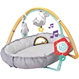 Taf Toys 4 in 1 Music and Light Thickly Padded Newborn Cozy Mat | Interactive Baby Mat. Baby's Activity and Entertainment Cen