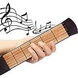 ギター 練習 ポケットギター 6フレット 初心者 便利 耐干渉 指配置運動 メトロノーム機能 ギター練習ツール 使いやすい ケース付き 初心者対応 練習用ガジェットツール コンパクト 初心者 向け