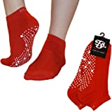FitSox Pilates, Yoga, Barre, Ballet, Dance, Fitness, Martial Arts, Gym, Workout, Anti Slip, Non Slip, Grip, Skid, Fall Preven