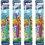 Oral-B Stages 2 Toothbrush 2 - 4 years 4 Pack /GENUINEと元の梱包 [並行輸入品]