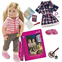 Our Generation Dolls Shannon Deluxe RV Doll with Book [並行輸入品]