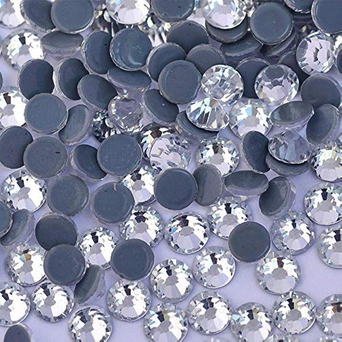 ラフまたジャーナルWTX ガラス製 ラインストーン 高品質 1440粒 SS4~SS30 Hotfix ホットフィックスラインストーン (SS20(約4.6-4.8mm、1440粒), クリスタル)