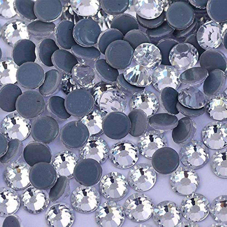 できたベンチ軽食WTX ガラス製 ラインストーン 高品質 1440粒 SS4~SS30 Hotfix ホットフィックスラインストーン (SS10(約2.7-2.9mm、1440粒), クリスタル)
