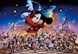 500ピース ジグソーパズル ディズニー Mickey's Party ぎゅっとシリーズ 【ステンドアート】 (25x36cm)