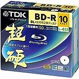 TDK KBRV50HCPWB-10B 超硬 BD-R DL 長時間2層ディスク
