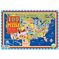 This Land is your Land 100 Piece Puzzle by eeBoo