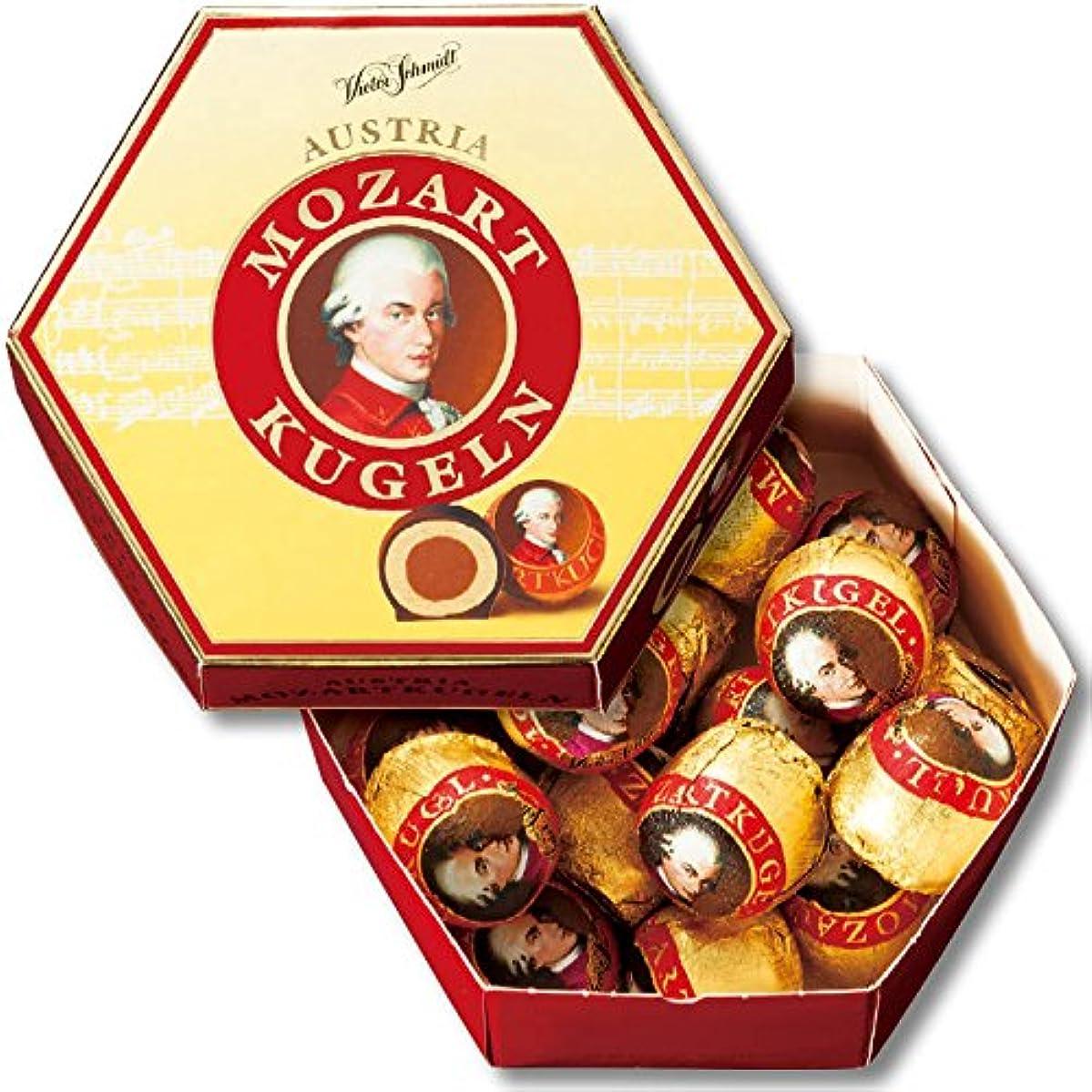 こだわり屋内工業用オーストリア 土産 モーツァルト クーゲルチョコレート 1箱 (海外旅行 オーストリア お土産)