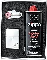 ZIPPO 【ジッポー 】ライター ギフトセット 200 イニシャル Y スピン シルバー SSP-Y