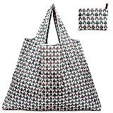 折りたたみ買い物袋 防水素材 (ふくろう)