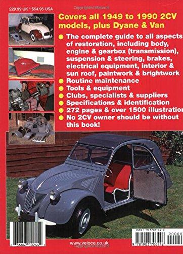 How to Restore Citroen 2CV (Enthusiast's Restoration Manual)