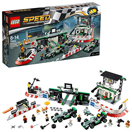 レゴ(LEGO) スピードチャンピオン メルセデスAMG・ペトロナス・フォーミュラワン・チーム 75883の詳細を見る