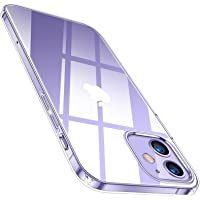 TORRAS 全透明 iPhone 12 mini 用 ケース 薄型 軽量 超耐衝撃 10倍黄変防止 ソフトtpu 画面…