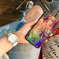 【西海岸iphoneケース専門店】西海岸 ヤシの木 カリフォルニアスタイル (iphone7plus/iphone8plus)