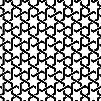 ポスター ウォールステッカー 正方形 シール式ステッカー 飾り 90×90cm Lsize 壁 インテリア おしゃれ 剥がせる wall sticker poster チェック・ボーダー 星 模様 005430